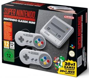 Nintendo Classic Mini: SNES - Mini Retro Játékkonzol