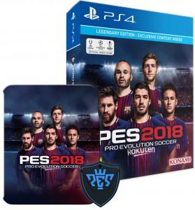 PES 2018 Legendary Edition (PS4) Játékprogram - PES ajándék órával!
