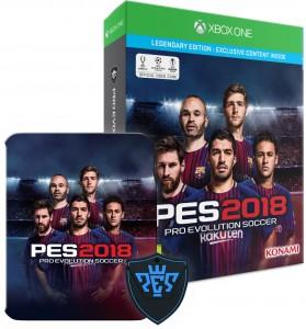 PES 2018 Legendary Edition (Xbox One) Játékprogram - PES ajándék órával!