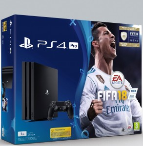 Sony Playstation 4 Pro (PS4) 1TB - FIFA 18 konzolcsomag