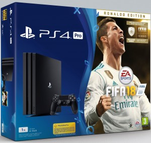 Sony Playstation 4 Pro (PS4) 1TB - FIFA 18 Deluxe konzolcsomag