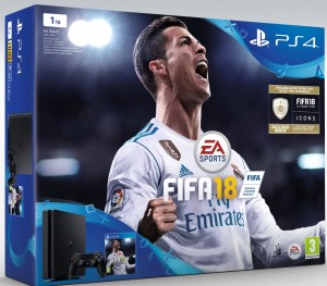 Sony Playstation 4 Slim (PS4) 1TB - FIFA 18 Konzolcsomag