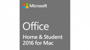 Office 2016 Home and Student for Mac (Angol nyelvű)