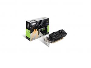 MSI PCIe NVIDIA GTX 1050 Ti 4GB GDDR5 - Videókártya