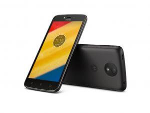Motorola Moto C Plus - Dual-SIM - Fekete - Okostelefon