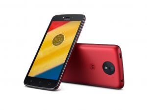Motorola Moto C Plus - Dual-SIM - Piros - Okostelefon
