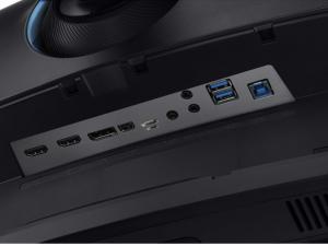 Samsung 49 Colos Ívelt QLED Gaming monitor 32:9 arányú képernyővel