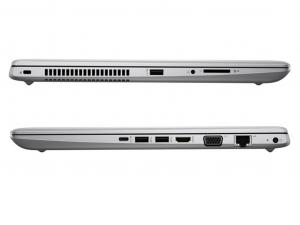 HP ProBook 450 G5, 15,6 FHD matt, Intel® Core™ i5-8250U Processzor, 8GB DDR4, 256GB SSD, Nvidia GF 930MX 2GB, ezüst, Win10P