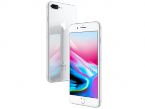 Apple iPhone 8 Plus 256GB 3GB Ezüst Okostelefon