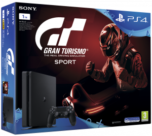 Sony Playstation 4 Slim (PS4) 1TB - Gran Turismo Sport konzolcsomag