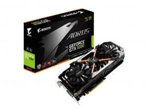 Gigabyte AORUS GeForce® GTX 1080 8G - Videókártya