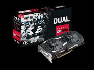 Asus Dual Radeon RX 580 OC Edition - Videokártya