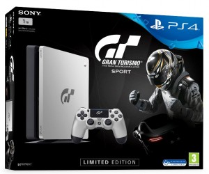 Sony Playstation 4 Slim (PS4) 1TB Limited Edition- Gran Turismo Sport konzolcsomag