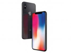 Apple iPhone X 64 GB Asztroszürke