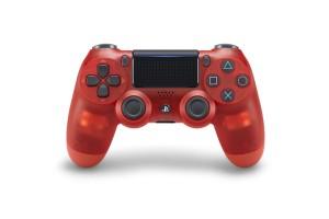 Sony Playstation 4 (PS4) Dualshock 4 V2 kontroller Red Crystal