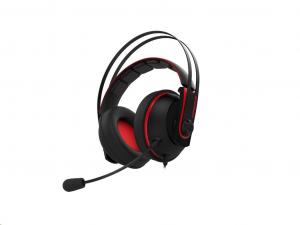 Asus Cerberus V2 Fekete-Piros - Gamer fejhallgató