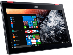 Acer Nitro 5 Spin NP515-51-56GF 15.6 FHD IPS Touch, Intel® Core™ i5 Processzor-8250U, 8GB, 1TB HDD + 256GB SSD, NVIDIA GeForce GTX 1050 - 4GB, win10, fekete notebook