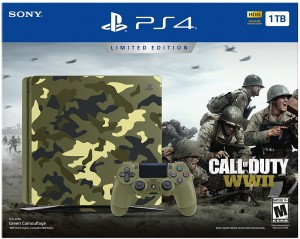 Sony Playstation 4 Slim (PS4) 1TB - Call Of Duty WWII Limited Edition Konzolcsomag