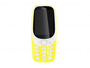 Nokia 3310 (2017) - Sárga - Mobiltelefon