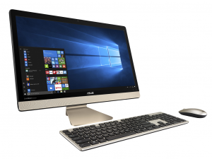 Asus 21,5 FHD V221ICGK-BA004T - Fekete/Arany - Windows® 10 64bit - All in One PC