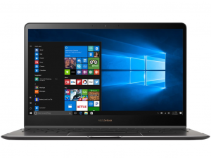 Asus ZenBook FLip S UX370UA-C4219T 13.3 FHD Touch, Intel® Core™ i7 Processzor-8550U, 8GB, 256 SSD, Win10H, szürke notebook