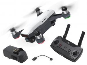 DJI Spark - Alpine White drón (Starter Kit)