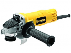 DeWALT DWE4157-QS 900W 125 mm sarokcsiszoló áramkimaradás kapcsolóval