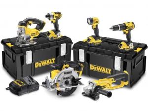 DeWALT DCK691M3-QW 6 Gépes combopack + 3 akkumulátor + 2 tároló