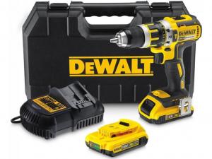 DeWALT DCD795D2-QW 18.0 V-os XR Li-Ion kefe-nélküli ütvefúró-csavarozó
