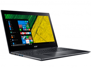 Acer Spin 5 SP515-51GN-858B 15.6 FHD IPS Multi-Touch, Intel® Core™ i7 Processzor-8550U, 8GB, 512 SSD, NVIDIA GeForce GTX 1050 - 4GB, win10H, acélszürke notebook