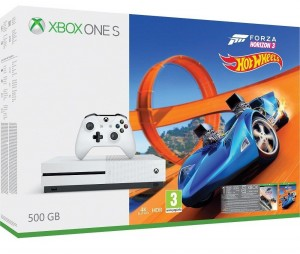 Microsoft Xbox One S (Slim) 500GB Játékkonzol + Forza Horizon 3 játékprogram + Hot Wheels