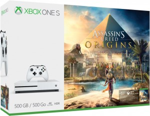 Mircosoft Xbox One S (Slim) 500GB Játékkonzol + Assassins Creed Origins