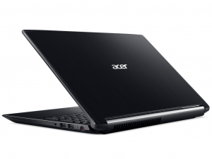 Acer Aspire 7 A715-71G-79LE 15.6 FHD IPS, Intel® Core™ i7 Processzor-7700HQ, 8GB, 1TB HDD, NVIDIA GeForce GTX 1050 - 2GB, linux, fekete notebook