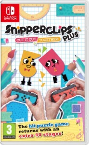 Nintendo Switch - Snipperclips Plus Játékszoftver