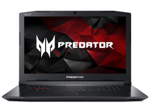 Acer Predator Helios PH317-51-74CC 17.3 IPS FHD ComfyView™, Shale Black, Intel® Core™ i7-7700HQ - 2.8GHz / 3.80GHz / 6MB, 4 GB DDR4 + 4 GB DDR4, 1TB HDD / 5400 + Free M.2 slot, NO DVD-RW DL, Intel® HD Graphics 630 + NVIDIA® GeForce® GTX 1050 Ti, 4 GB VRA