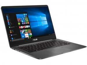 Asus ZenBook UX430UN-GV059T 14 FHD, Intel® Core™ i7 Processzor-8550U, 8GB, 512GB SSD, NVIDIA GeForce MX150 - 2GB, win10, szürke notebook