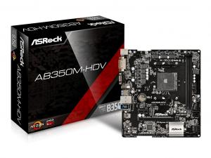 ASRock sAM4 AB350M-HDV