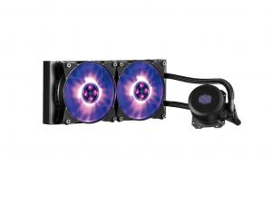 Cooler Master - ML240L RGB - Vízhűtés/univerzális - MLW-D24M-A20PC-R1 - Processzorhűtő