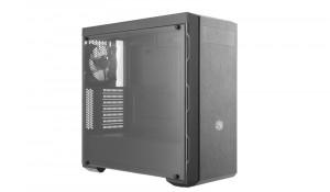Cooler Master Midi - B600L - MCB-B600L-KA5N-S02 - Számítógépház