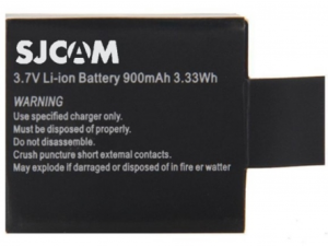 SJCAM SJCBAT Gyári akkumulátor 900 mAh minden típushoz