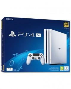 Sony Playstation 4 Pro (PS4) 1TB Fehér Játékkonzol