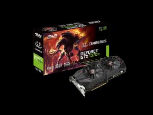 ASUS Cerberus GeForce® GTX 1070 Ti 8GB - Videokártya