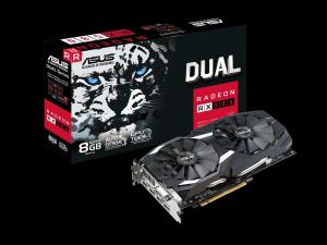 ASUS AMD RX 580 8GB GDDR5 - DUAL-RX580-8G - Videókártya