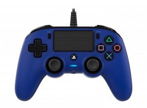 Nacon (PS4) kék vezetékes kontroller