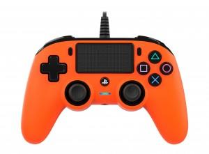 Nacon (PS4) narancssárga vezetékes kontroller