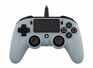 Nacon (PS4) szürke vezetékes kontroller