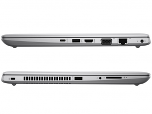 HP ProBook 440 G5 3GJ10ES#AKC 14 FHD, Intel® Core™ i5 Processzor-8250U, 8GB, 256GB SSD, Dos, ezüst notebook