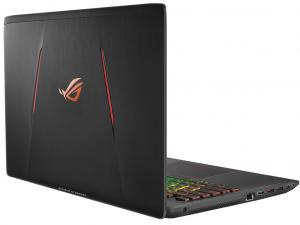 Asus Rog Strix GL553VD-DM1221 15.6 FHD, Intel® Core™ i7 Processzor-7700HQ, 4GB, 1TB HDD, NVIDIA GeForce GTX 1050 - 4GB, linux, fekete notebook