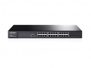 Tp-Link Switch Gigabit Managed JetStream 24+4sfp port - T2600G-28TS (TL-SG3424) - Switch