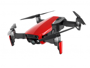 DJI Mavic Air - Fly More Combo - Flame Red - Drón